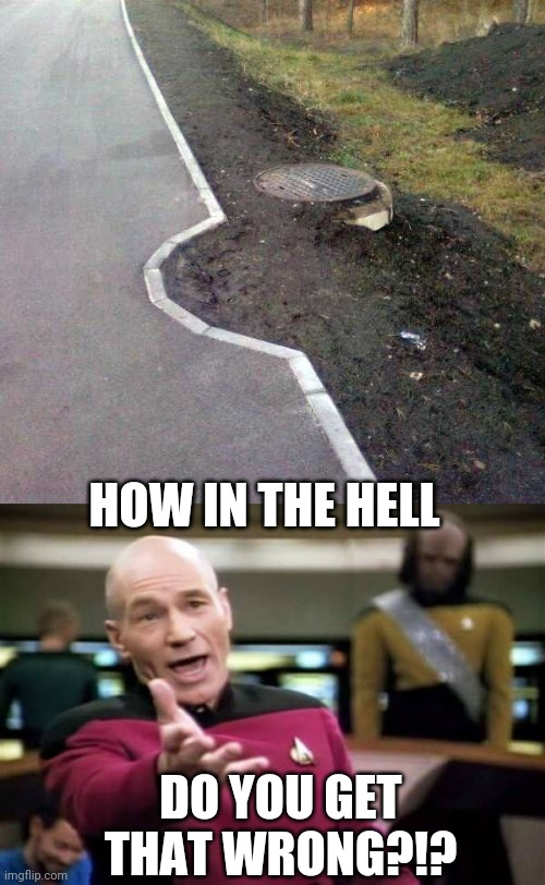 YOU HAD ONE JOB |  HOW IN THE HELL; DO YOU GET THAT WRONG?!? | image tagged in memes,picard wtf,you had one job,fail,stupid people | made w/ Imgflip meme maker