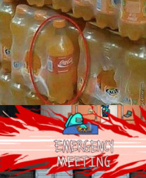 Coca Cola u looking sus | image tagged in spies | made w/ Imgflip meme maker
