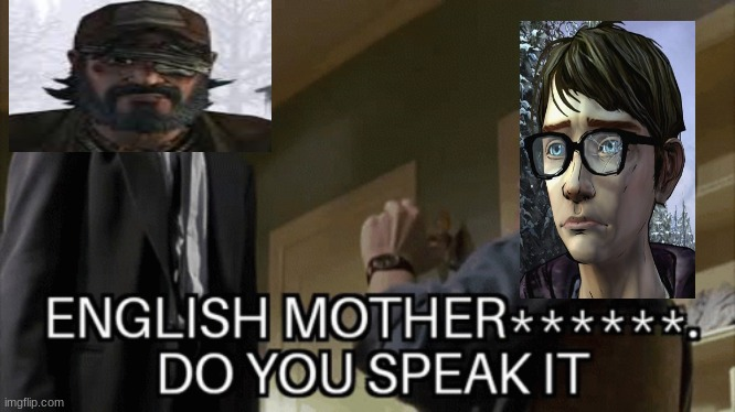 kenny, please calm down | image tagged in twdg,kenny twdg,twdg arvo | made w/ Imgflip meme maker