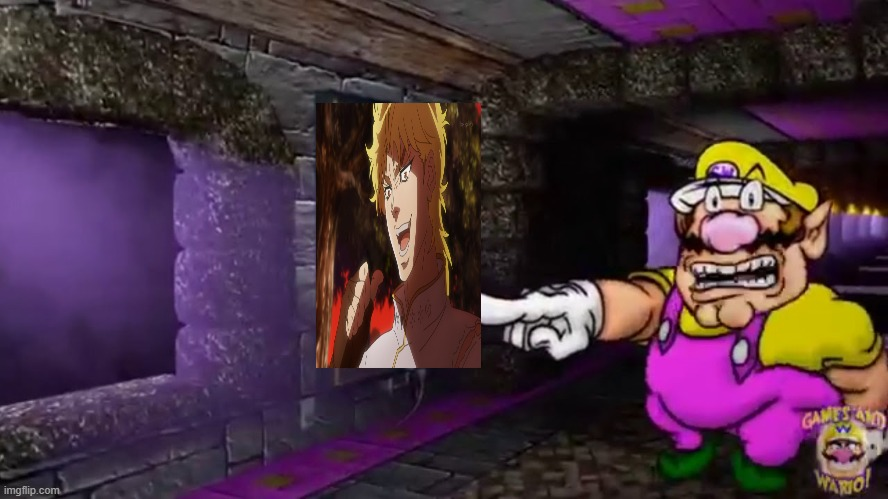 LOOK GUYS LOOK | image tagged in wario's greatest achievement,but it was me dio | made w/ Imgflip meme maker
