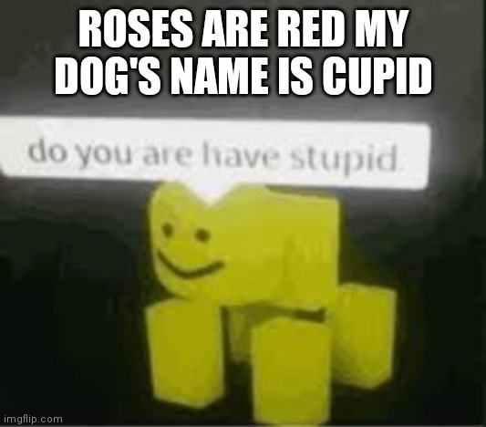 "broken noob ""do you are have stupid"" 