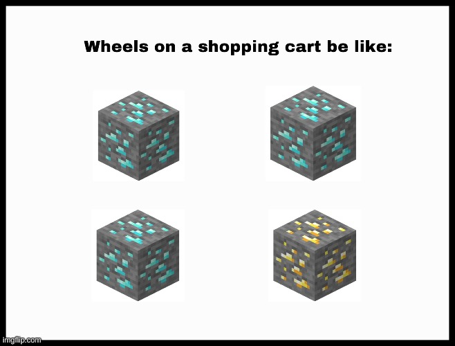 So annoying | image tagged in shopping cart | made w/ Imgflip meme maker