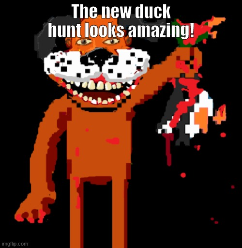 rlly good gaem |  The new duck hunt looks amazing! | image tagged in funny | made w/ Imgflip meme maker