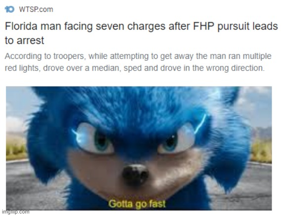 gotta go fast | image tagged in gotta go fast | made w/ Imgflip meme maker