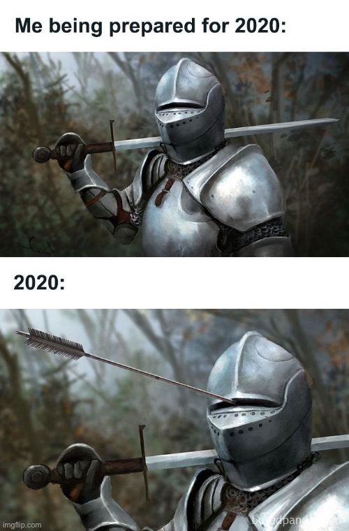 2020 be like | image tagged in knight,2020,memes | made w/ Imgflip meme maker