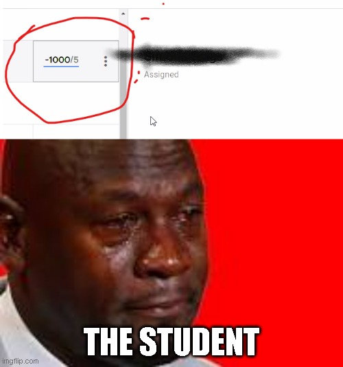 1 word *pain* |  THE STUDENT | image tagged in school | made w/ Imgflip meme maker