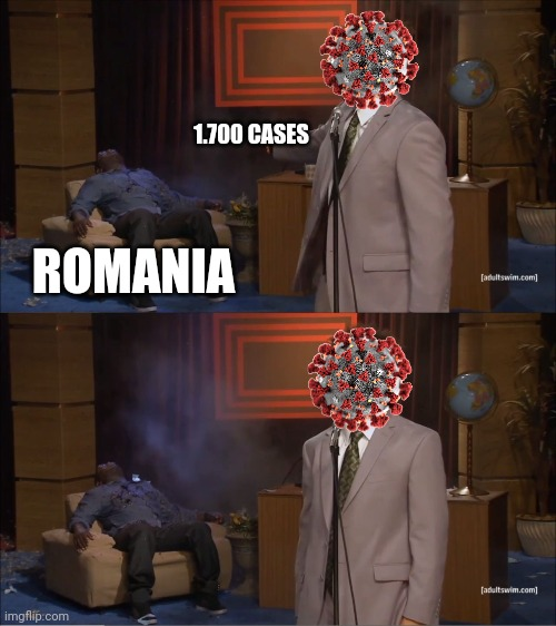 It's not fair at all... |  1.700 CASES; ROMANIA | image tagged in memes,who killed hannibal,coronavirus,covid-19,covidiots,romania | made w/ Imgflip meme maker