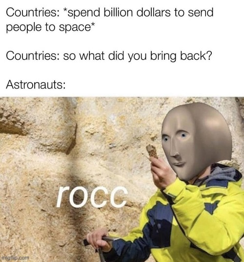 $$$ has been wasted as u can see | image tagged in rock | made w/ Imgflip meme maker