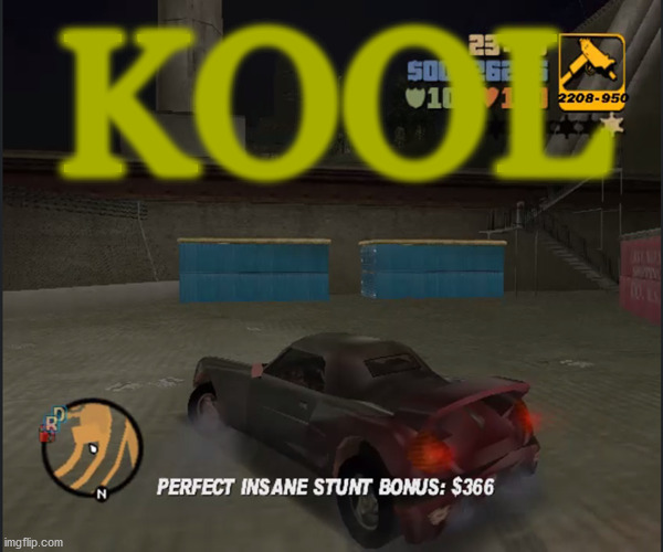 propz brah |  KOOL | image tagged in memes,cool,gta,gaming,professional,awesome | made w/ Imgflip meme maker