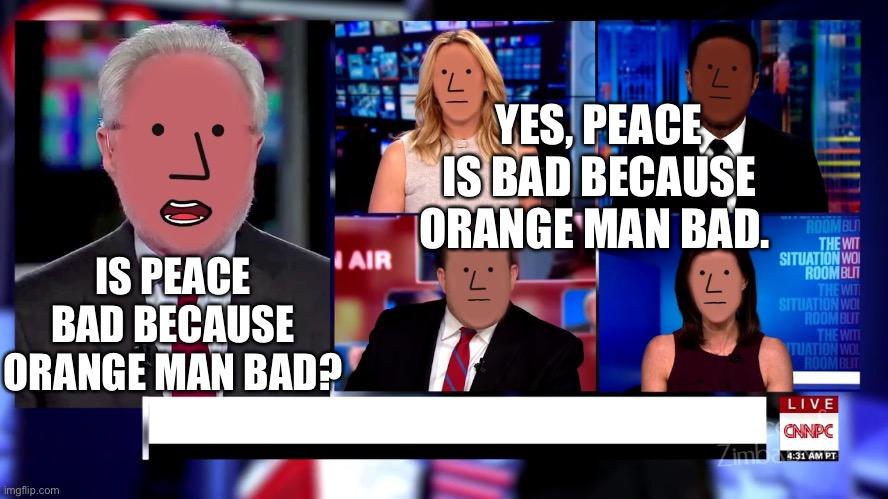 Orange Man - Imgflip