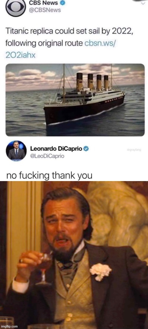 bad idea | image tagged in titanic,leonardo dicaprio,lol,lol so funny,lolz,funny memes | made w/ Imgflip meme maker