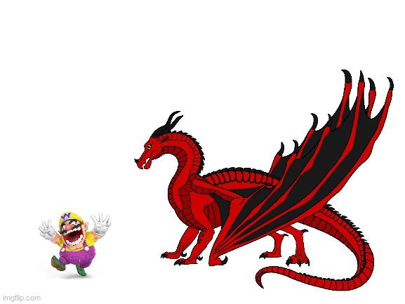 Wario dies from the wrath of ashes and his dragon army.mp3 | made w/ Imgflip meme maker