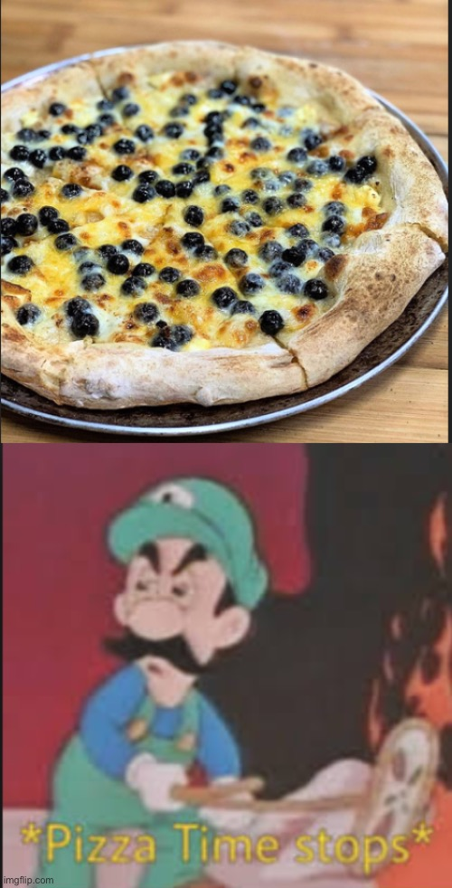 Boba Pizza | image tagged in pizza time stops,gross,pizza,memes | made w/ Imgflip meme maker