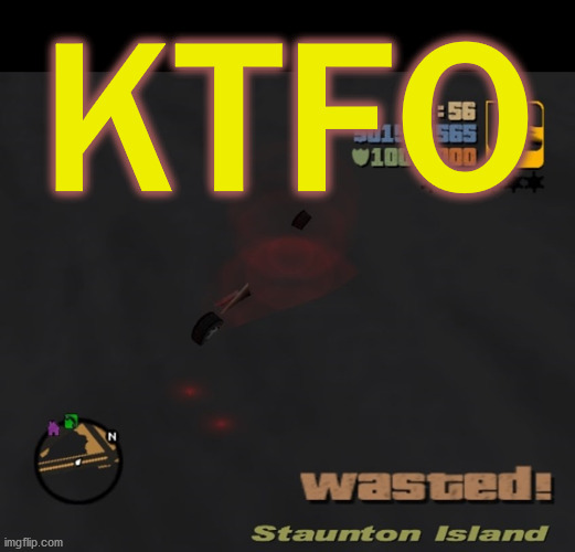 "you don't ""respawn"" in RL situations . . . 