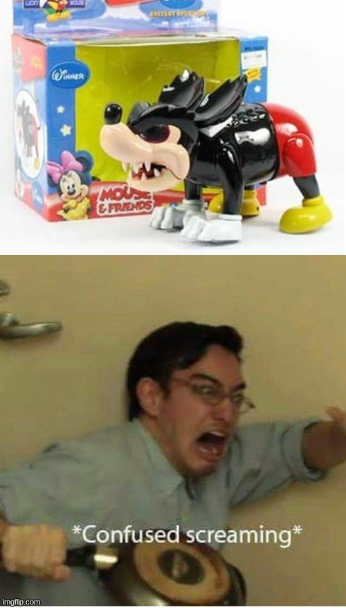This sorta happens | image tagged in confused screaming,knock off,memes,disney | made w/ Imgflip meme maker