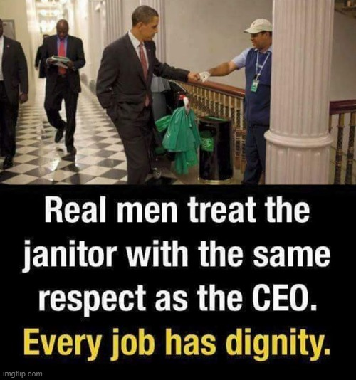 retweeet | image tagged in repost,obama,respect,jobs,labor,classy | made w/ Imgflip meme maker