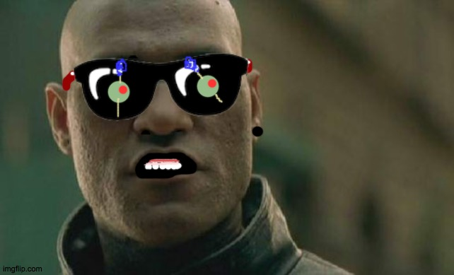 morFFFFFFeeus | image tagged in memes,matrix morpheus,morpheous,red,wednesday,olives | made w/ Imgflip meme maker