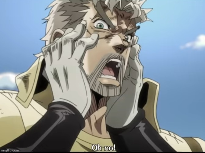 Joseph Joestar oh no | image tagged in joseph joestar oh no | made w/ Imgflip meme maker