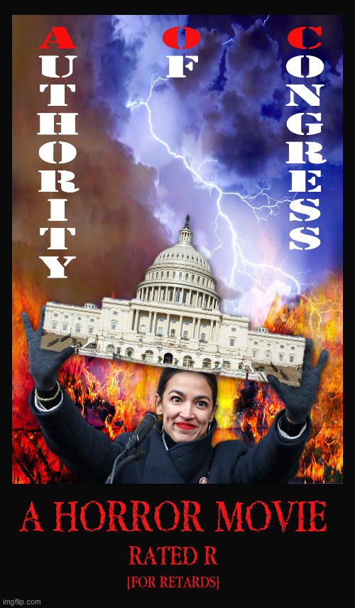 A O C | image tagged in aoc,alexandria ocasio-cortez,scary,movie,horror | made w/ Imgflip meme maker