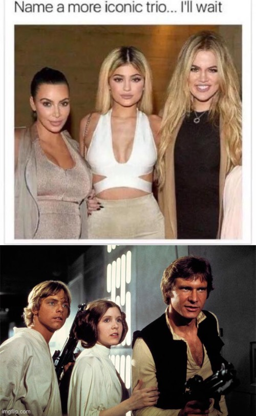 Bet | image tagged in name a more iconic trio,star wars,funny,memes | made w/ Imgflip meme maker