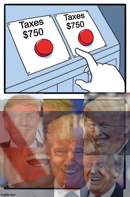 seven giddy? |  Taxes $750; Taxes $750 | image tagged in memes,wrong,broken,liar,hoax,scared | made w/ Imgflip meme maker