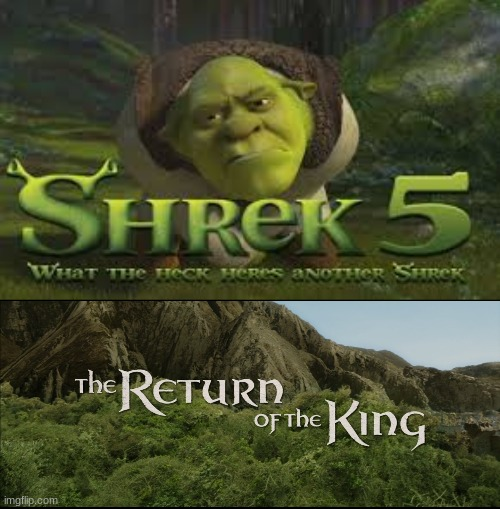 return of the king | image tagged in return of the king | made w/ Imgflip meme maker