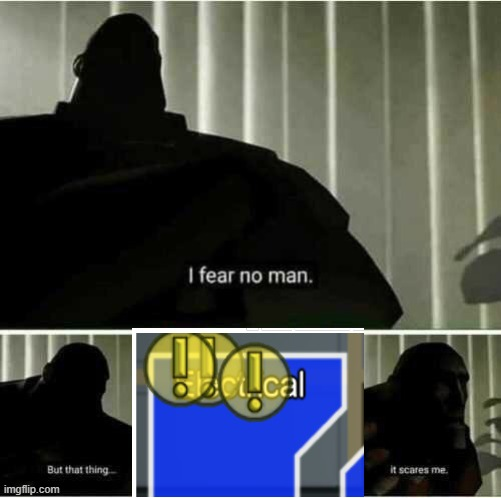 among us | image tagged in i fear no man | made w/ Imgflip meme maker