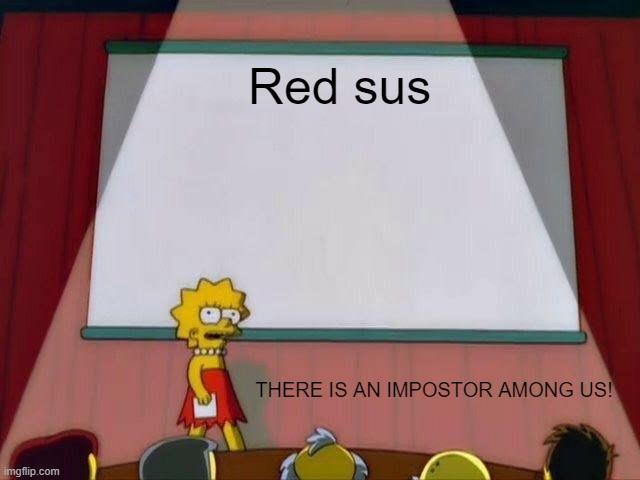 Red sus - Imgflip