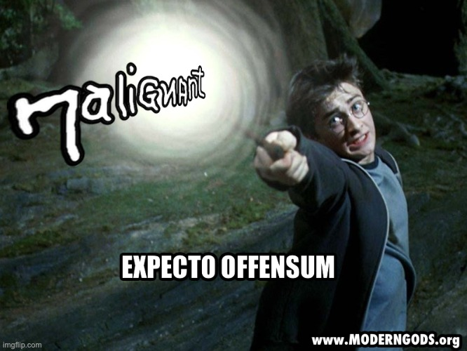 Expecto Offensum - Malignant | image tagged in books,harry potter,science,science fiction | made w/ Imgflip meme maker