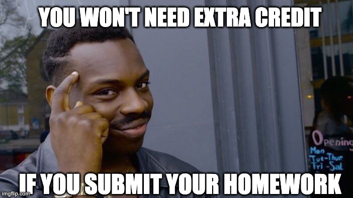 Roll Safe Think About It |  YOU WON'T NEED; IF YOU SUBMIT YOUR HOMEWORK | image tagged in memes,roll safe think about it,professingforward,academia,higher education,professor | made w/ Imgflip meme maker