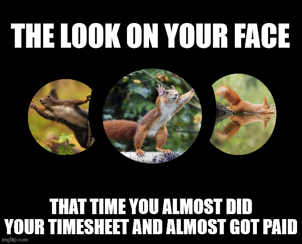Missed It By This Much |  THE LOOK ON YOUR FACE; THAT TIME YOU ALMOST DID YOUR TIMESHEET AND ALMOST GOT PAID | image tagged in almost,timesheet reminder,timesheet meme,task failed successfully | made w/ Imgflip meme maker