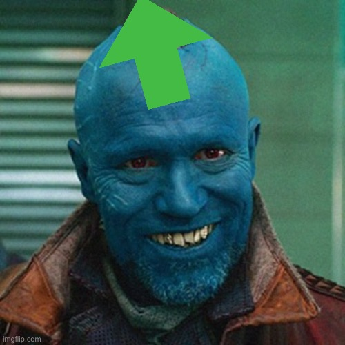 image tagged in yondu | made w/ Imgflip meme maker