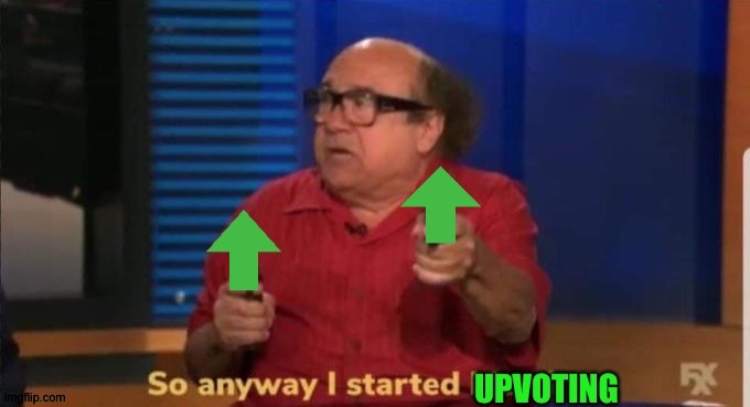 So anyway I started up voting | image tagged in so anyway i started up voting | made w/ Imgflip meme maker
