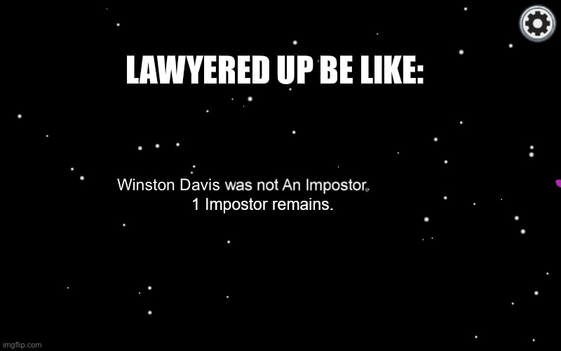 """not an impostor"" template among us 