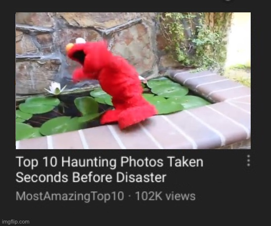 O H N O E L M O ! F. | image tagged in elmo,memes,top 10,funny,youtube | made w/ Imgflip meme maker