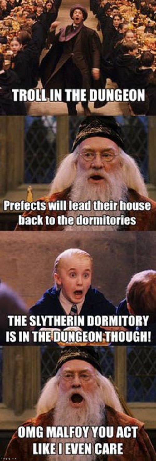 Troll in the Dungeon! | image tagged in harry potter,funny | made w/ Imgflip meme maker