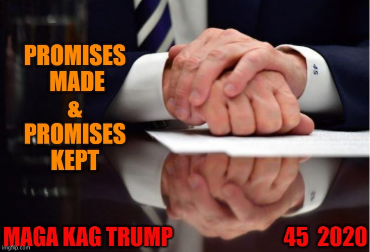 "President Trump  ""Promises Made and Promises Kept"" 