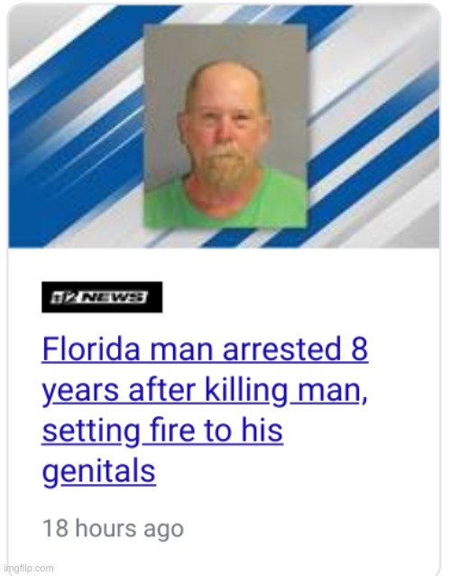 Florida Man | image tagged in florida | made w/ Imgflip meme maker