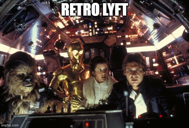 han solo never tell me the odds |  RETRO LYFT | image tagged in han solo never tell me the odds | made w/ Imgflip meme maker