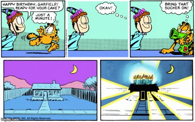 Comics Square Root Of Minus Garfield Memes Gifs Imgflip