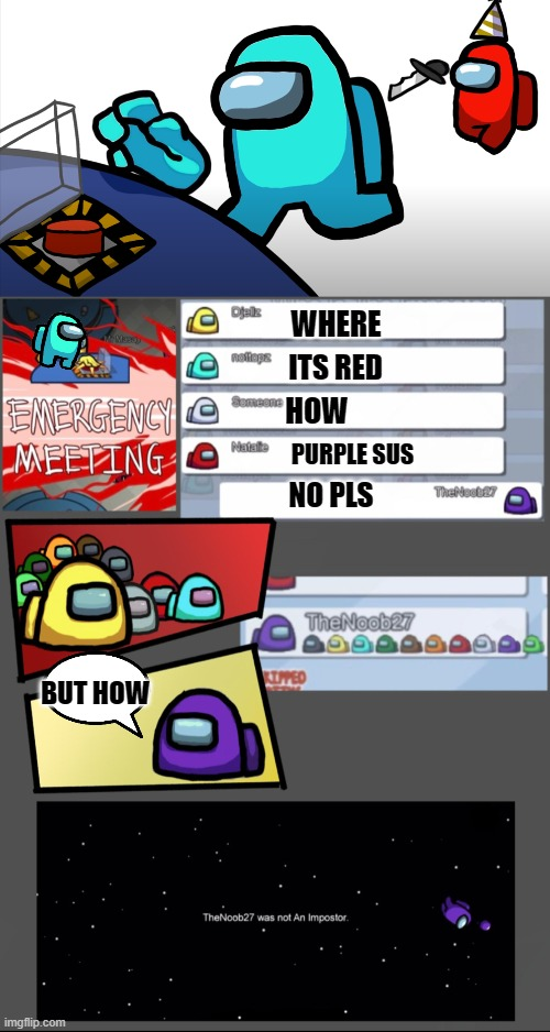 Gaming Among Us Emergency Meeting Memes Gifs Imgflip