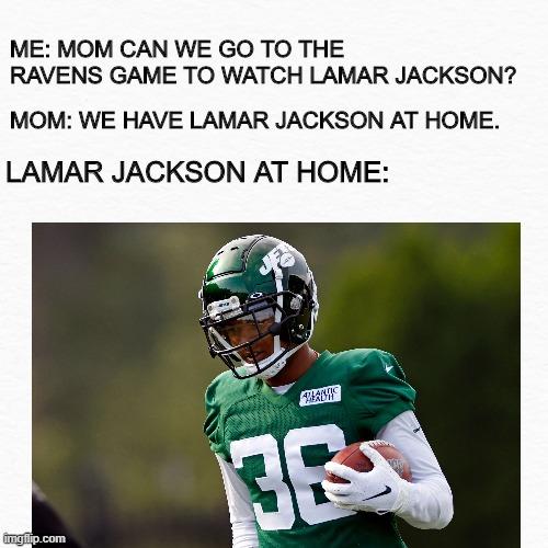 Lamar Jackson At Home Imgflip