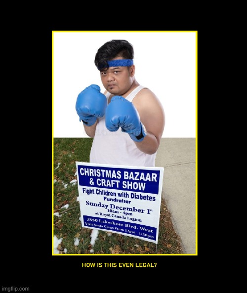 Fighting Diabetes | image tagged in fat,diabetes,kids,boxing | made w/ Imgflip meme maker