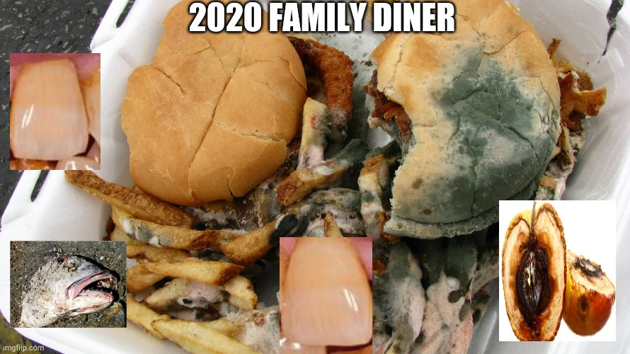 If 2020 was a restaurant, this is what they would serve |  2020 FAMILY DINER | image tagged in memes,rotten,food,2020,restaurant,2020 sucks | made w/ Imgflip meme maker