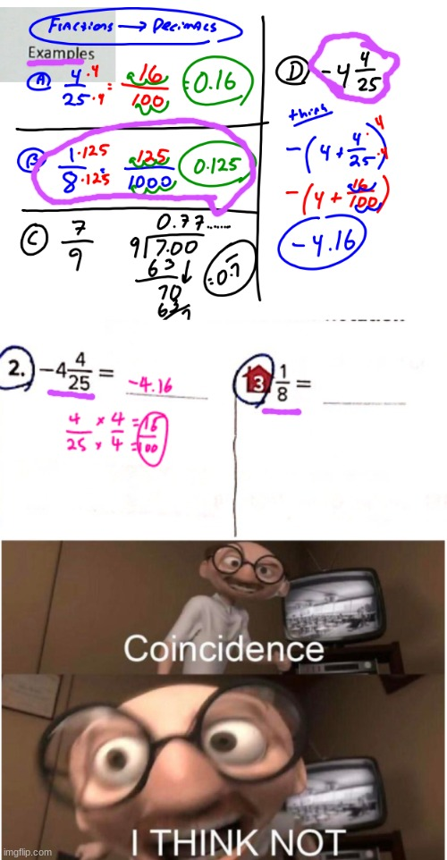 BRO!!! I THINK MY TEACHER TOLD ME THE ANSWERS TO THE HOMEWORK | image tagged in coincidence i think not | made w/ Imgflip meme maker