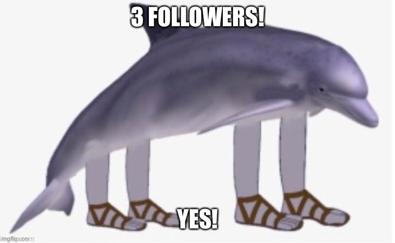 3 FOLLOWERS! YES! | made w/ Imgflip meme maker
