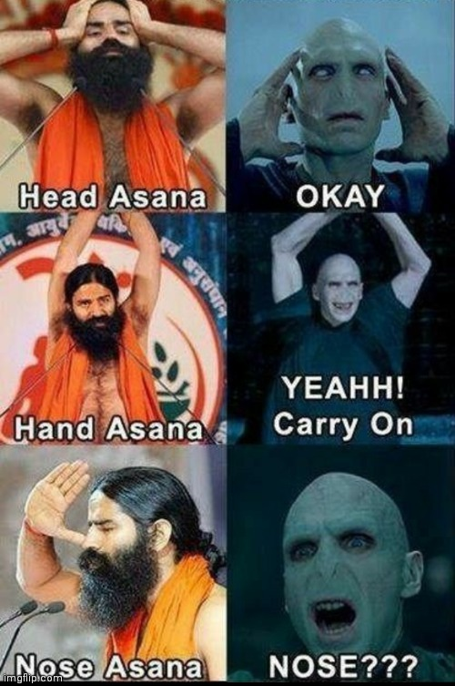 Lol memes | image tagged in funny memes,yoga,harry potter | made w/ Imgflip meme maker