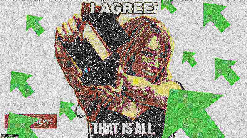 Kylie I agree with upvotes deep-fried | image tagged in kylie i agree w/ upvotes deepfried,custom template,deep fried,deep fried hell,agree,agreed | made w/ Imgflip meme maker