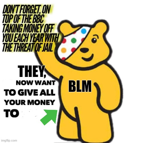 BBC BLM |  THEY,                            BLM | image tagged in your country needs you | made w/ Imgflip meme maker