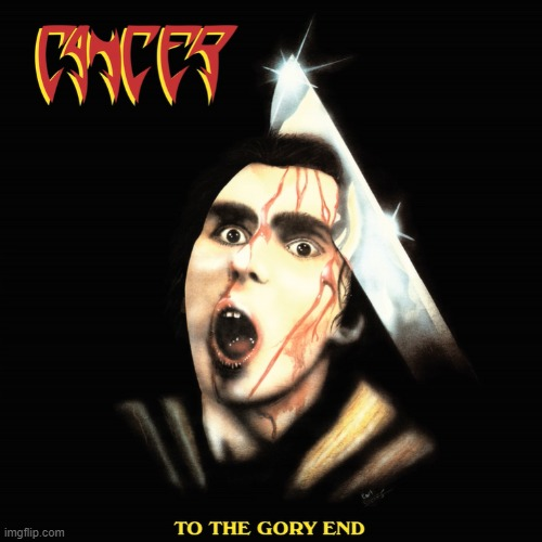 CANCER - BLOODBATH | image tagged in metal mania week,cancer,bloodbath | made w/ Imgflip meme maker